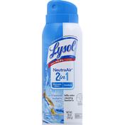 Lysol Disinfectant Spray, 2 in 1, Driftwood Waters Scent