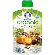 Gerber Organic 2 Nd Foods Organic Root Veggies & Quinoa Baby Food