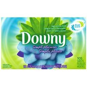 Downy Ultra Simple Pleasures Sage Jasmine Thrill Sheets Fabric Softener