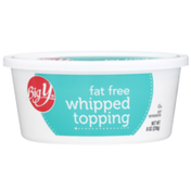 Big Y Fat Free Whipped Topping