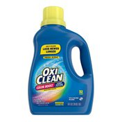 OxiClean Color Boost Color Brightener Plus Stain Remover Liquid Fresh Scent