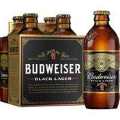 Budweiser Black Lager Beer Bottles