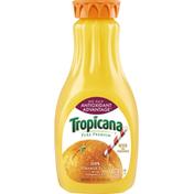 Tropicana 100% Juice, Orange, No Pulp, Antioxidant Advantage