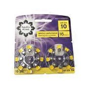 Signature Select Hearing Aid Batteries, Size 10, 16 Pack