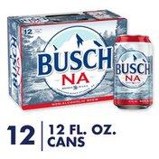 Busch Na Non Alcoholic Beer Cans