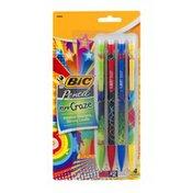 BiC Pencil Pencil Xtra-Craze Mechanical Pencils #2 - 4 CT