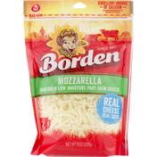 Borden Shredded Cheese Mozzarella