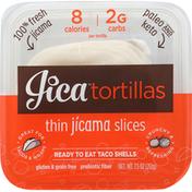 Jica Sticks Jicama Slices, Thin