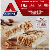 Atkins Vanilla Pecan Crisp Meal Replacement Bars
