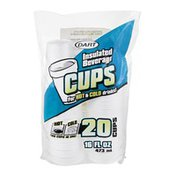 Dart Cups Insulated Beverage - 20 CT