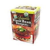Don Lee Farms Black Bean Burgers Chipotle Blend