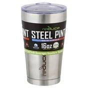 Reduce Tumbler, Steel Pint, 16 Ounce