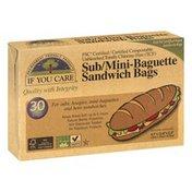 If You Care Sandwich Bags, Sub/Mini-Baguette