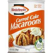 Manischewitz Macaroons, Carrot Cake