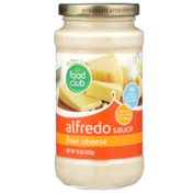 Food Club Four Cheese Alfredo Sauce
