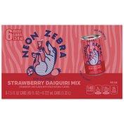 Neon Zebra Strawberry Daiquiri Mixer Flavored Beverage