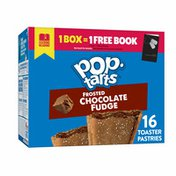 Kellogg's Pop-Tarts Toaster Pastries, Breakfast Foods, Baked in the USA, Frosted Chocolate Fudge