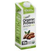 Orgain Organic Protein Almond Milk, Unsweetened Vanilla