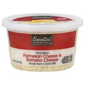 Essential Everyday Cheese, Shredded, Parmesan & Romano