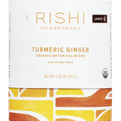 Rishi Tea Tea, Organic, Caffeine-Free, Turmeric Ginger, Loose