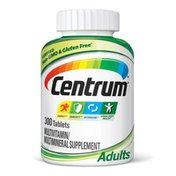 Centrum Adults Multivitamin Multimineral Supplement Tablets