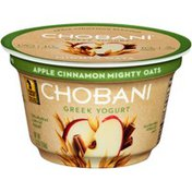 Chobani Mighty Oats Apple Cinnamon Blended Low-Fat Greek Yogurt