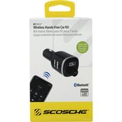 Scosche Hands-Free Car Kit, Wireless