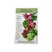 Botanical Interests Organic Gourmet Baby Greens Mesclun Lettuce Seeds