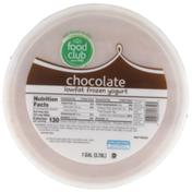 Food Club Chocolate Lowfat Frozen Yogurt