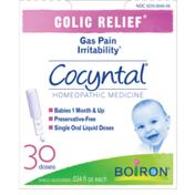 Boiron Cocyntal, Colic Relief, Single Liquid Doses