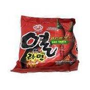 Ottogi Instant Noodle, Asian Style, Hot Taste