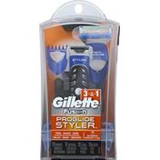 Gillette Trimmer, ProGlide Styler, 3-in-1