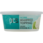 PICS Fat Free Whipped Topping