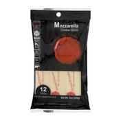 Natural & Kosher Mozzarella Cheese Sticks - 12 CT
