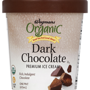 Wegmans Organic Food You Feel Good About Dark Chocolate Premium Ice Cream
