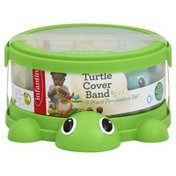 Infantino Percussion Set, Turtle Cover Band, 8-Piece