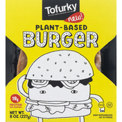 Tofurky Burger, Plant-Based