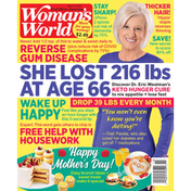 Woman's World Magazine, She Lost 216 Lbs At Age 66,