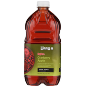 Hy-Vee 100% Cranberry Apple Flavored Juice Blend With Another Fruit Juice From Concentrate