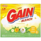 Gain Ultra Outdoor Sunshine Bleach with FreshLock Powder Laundry Detergent