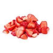 Organic Cut Strawberries