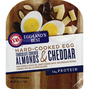 Eggland's Best Hard-Cooked Egg, Chocolate Covered Almonds & Cheddar