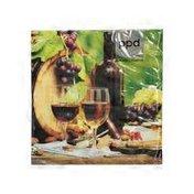 Paperproducts Design Viniculture Beverage Napkin