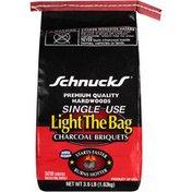 Schnucks Premium Quality Hardwoods Single Use Light The Bag Charcoal Briquets