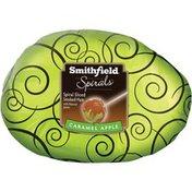 Smithfield Spirals Caramel Apple Spiral Sliced Smoked  Ham