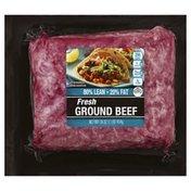 Cub Beef, Fresh, Ground, 80/20
