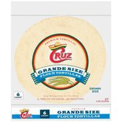 Cruz Grande Size Flour Tortillas