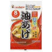 Marukome Miso Soup, Fried Tofu Seaweed Green Onion, Instant