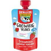 Horizon Organic Growing Years Strawberry Lowfat Yogurt