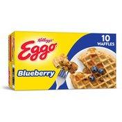 Kellogg's Eggo Frozen Waffles, Blueberry